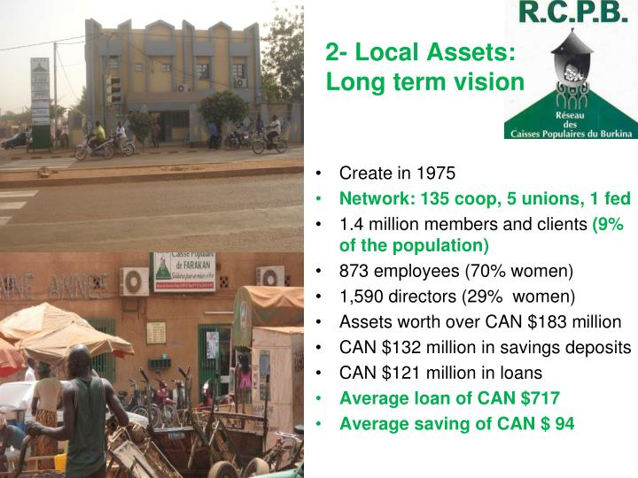 2- Local Assets: