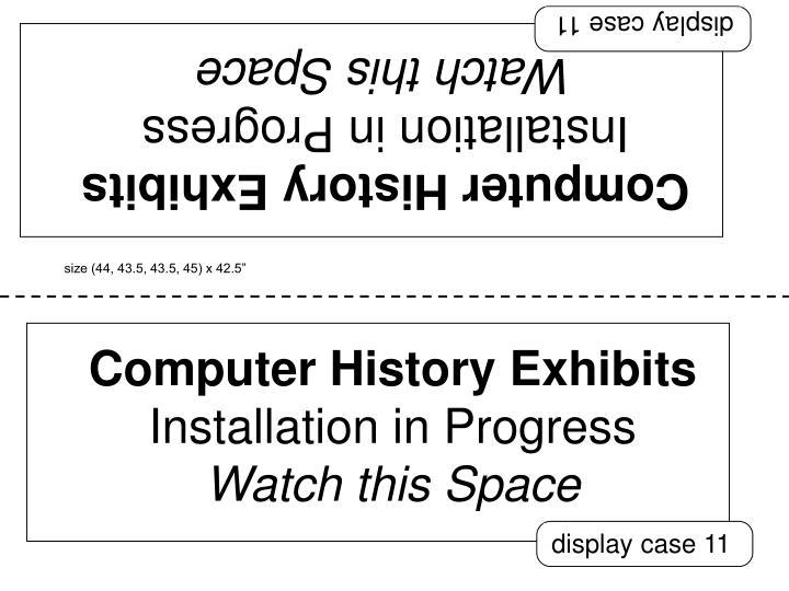 display case 11