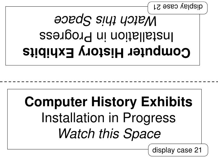 display case 21