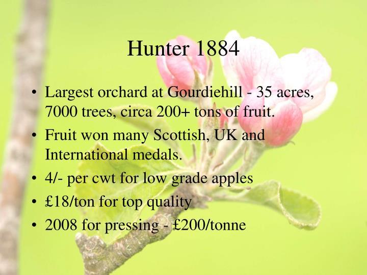 Hunter 1884