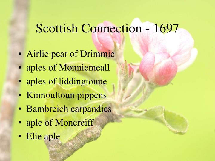 Scottish Connection - 1697