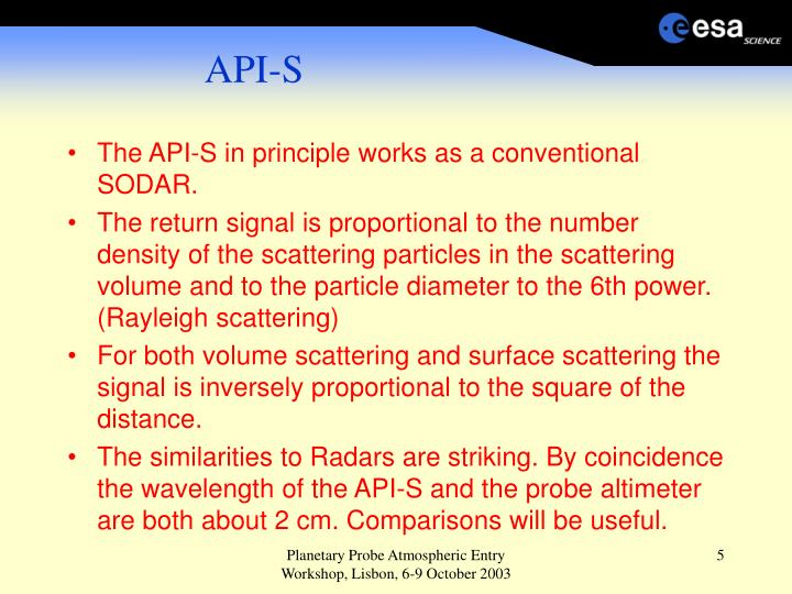 API-S