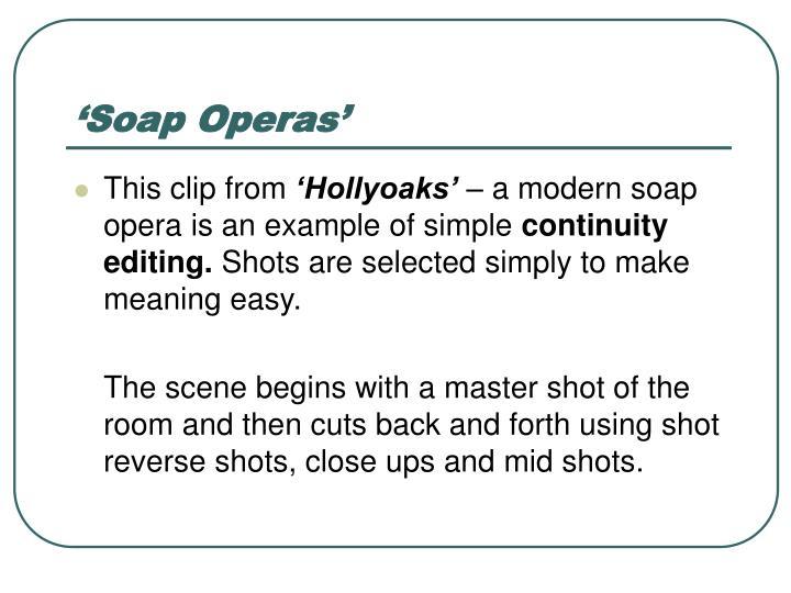 'Soap Operas'