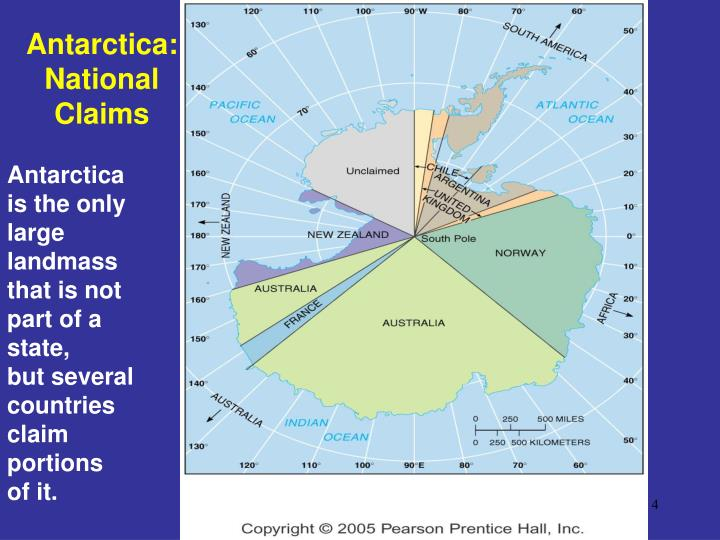 Antarctica: National Claims
