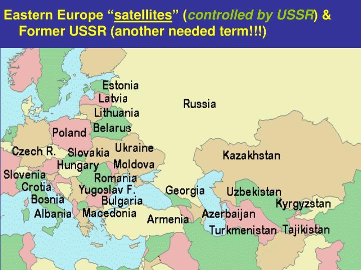 """Eastern Europe """""""