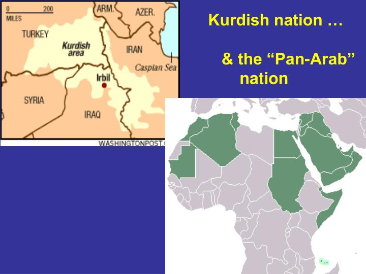 Kurdish nation …