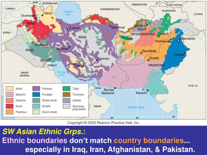 SW Asian Ethnic Grps