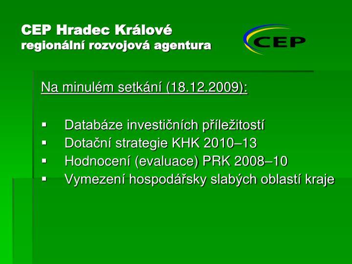 CEP Hradec Králové