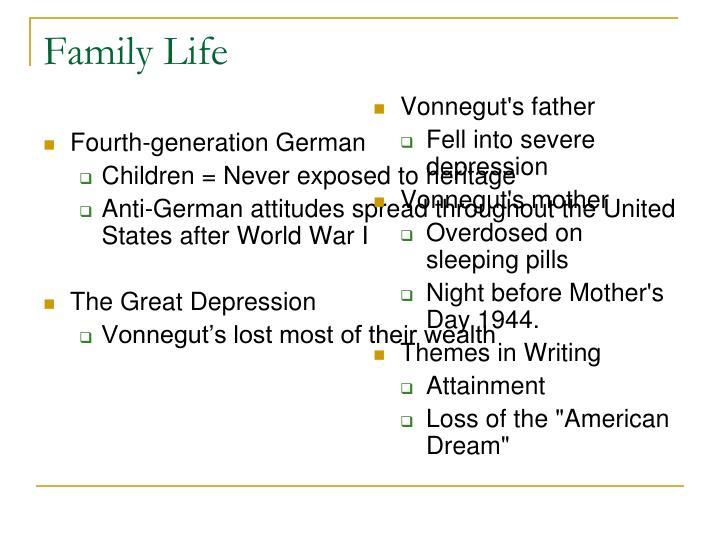 Vonnegut's father