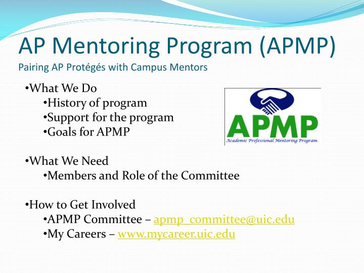 AP Mentoring Program (APMP)
