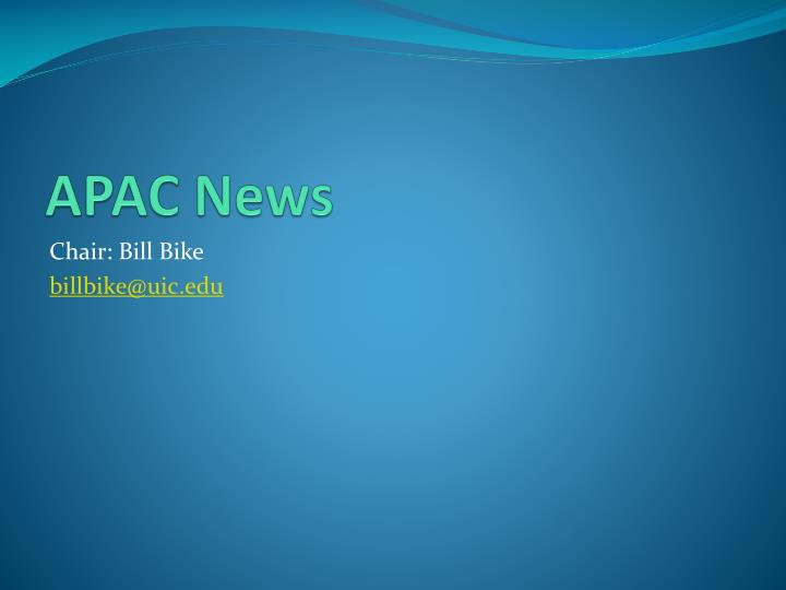 APAC News