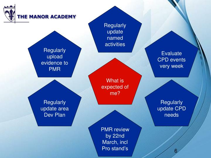 THE MANOR ACADEMY