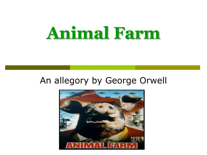 animal farm essays English 9 for your final writing assessment of the animal farm unit, you will be putting together a four-paragraph essay to demonstrate your writing skills and understanding of the text.