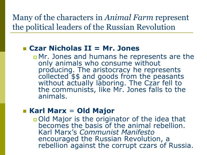 "marxism and the russian revolution in the animal farm by george orwell One of orwell's intents when writing ""animal farm match to marx's vision of a farm and the russian revolution essay questions for george orwell's."