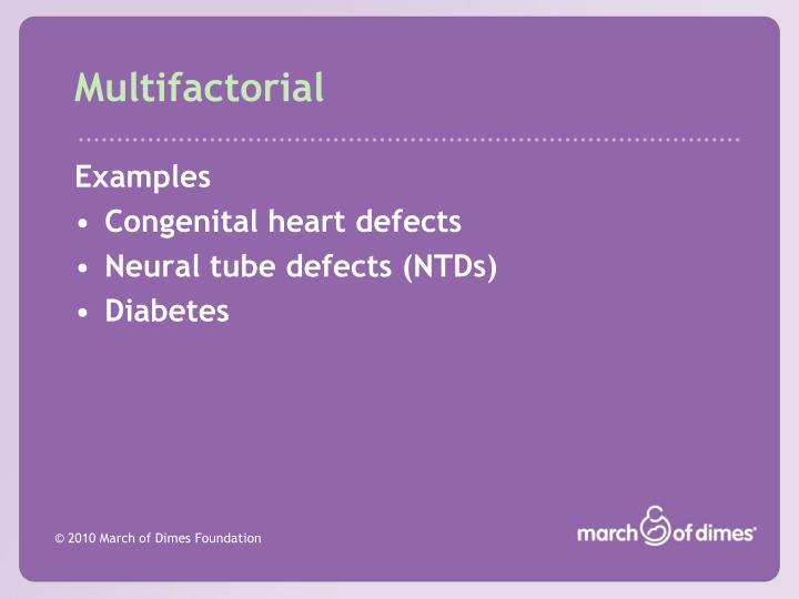 Multifactorial