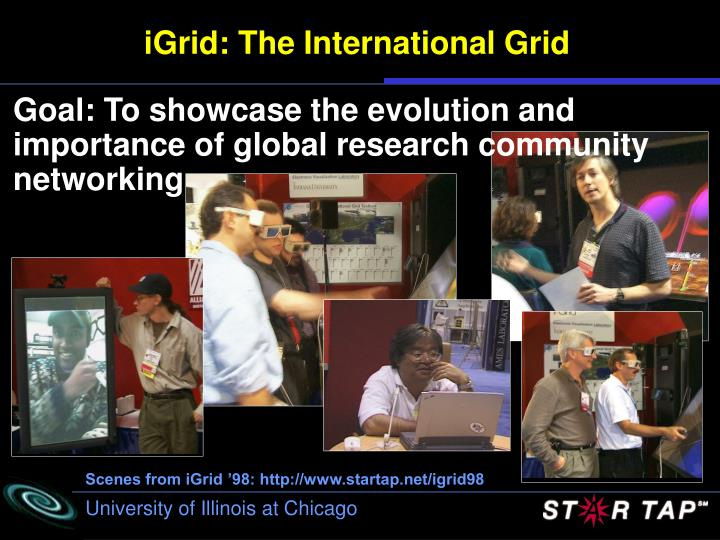 iGrid: The International Grid