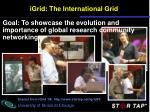 igrid the international grid
