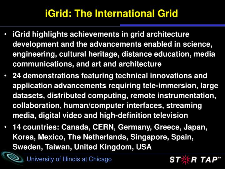 Igrid the international grid1