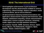 igrid the international grid1