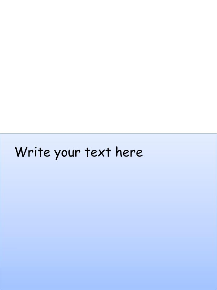 Write your text here