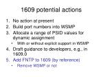 1609 potential actions