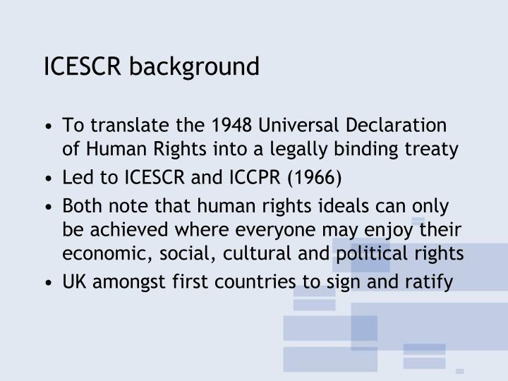 Icescr background