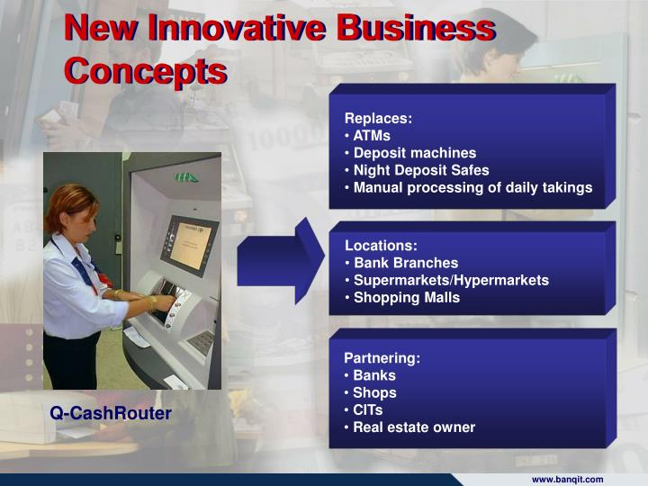 New Innovative Business Concepts