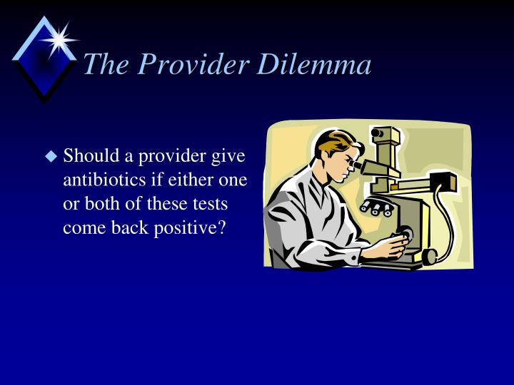 The provider dilemma1