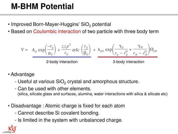 M-BHM Potential