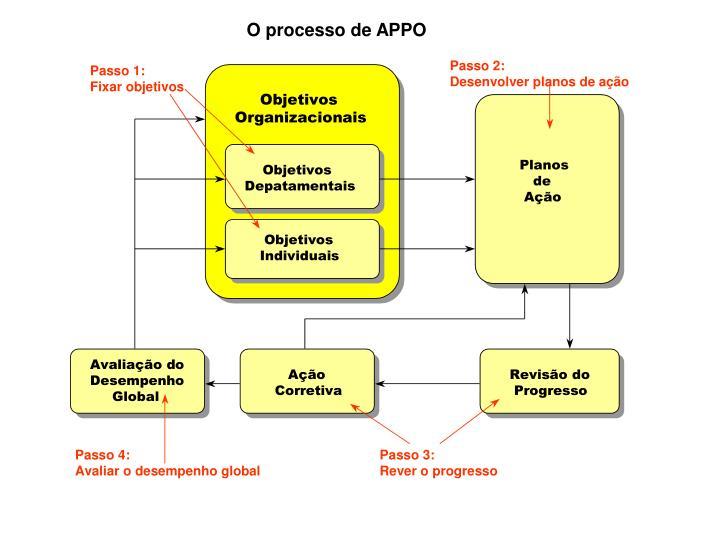 O processo de APPO