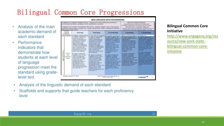 Bilingual Common Core Initiative