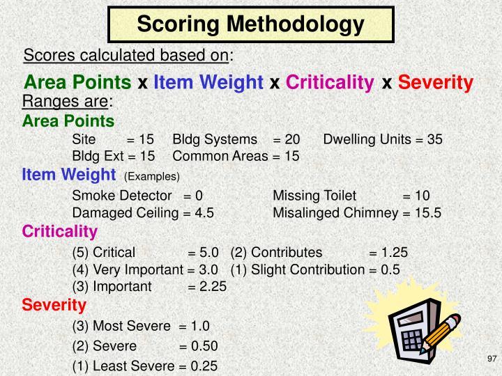 Scoring Methodology
