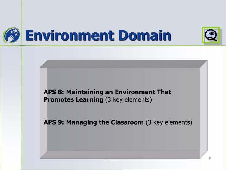 Environment Domain