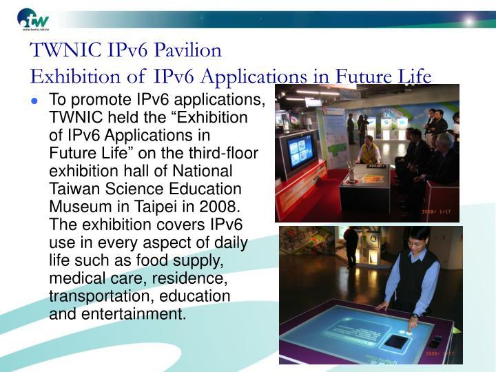 TWNIC IPv6 Pavilion