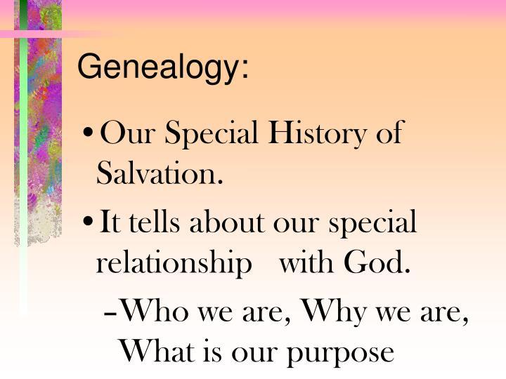 Genealogy: