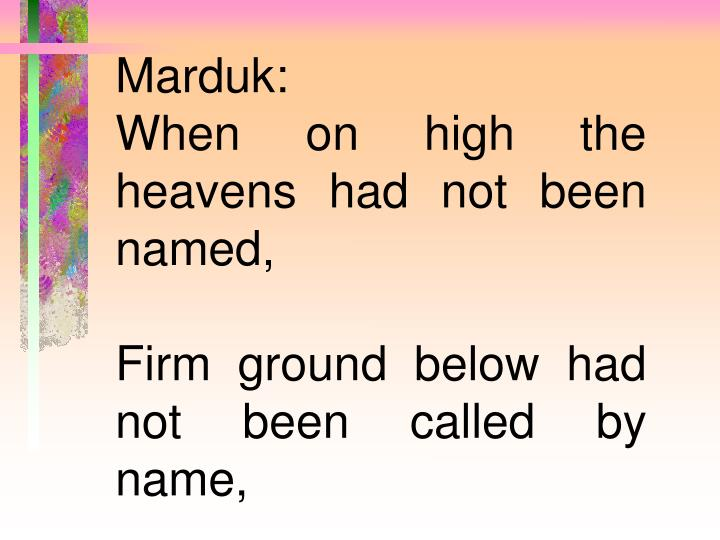 Marduk: