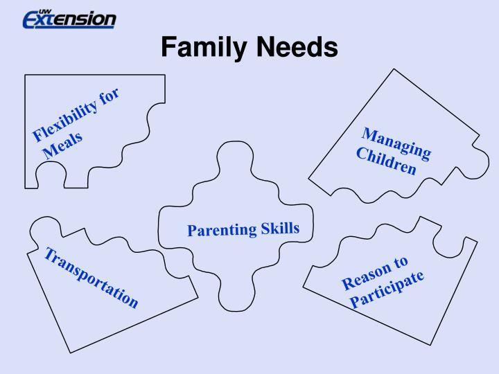 Family Needs