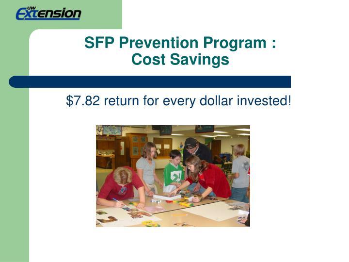SFP Prevention Program :