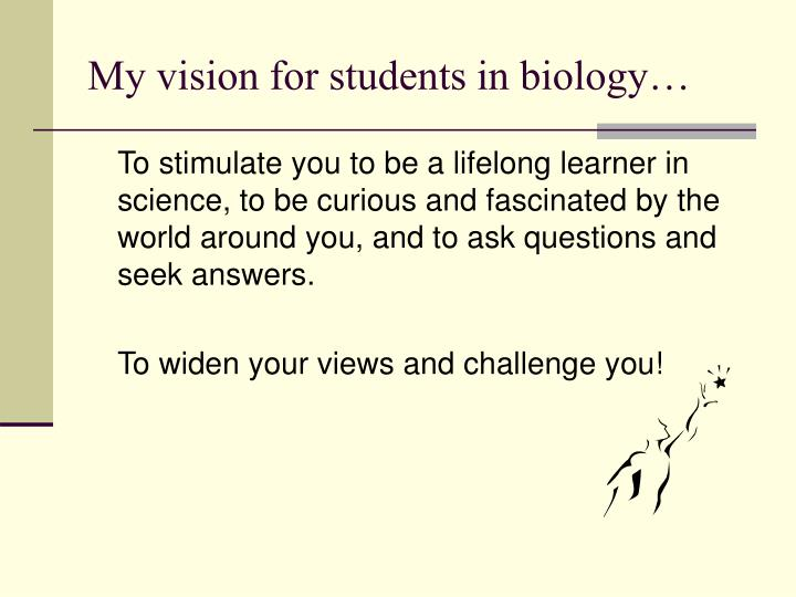 biology open ended investigation The practical investigation was introduced into the science curriculum of scottish   grade(s -s4) sciences (biology /chemistry / physics / general science)   science teachers should seek explicitly to develop pupils' skills in open-ended.