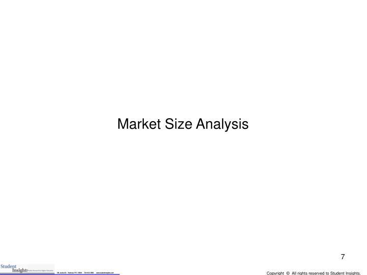 Market Size Analysis