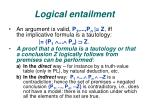 logical entailment1