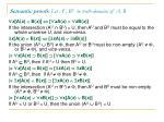 semantic proofs let a u b u be truth domains of a b