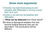 some more arguments1