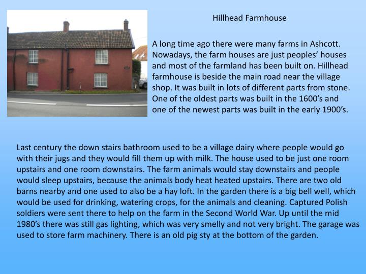 Hillhead Farmhouse