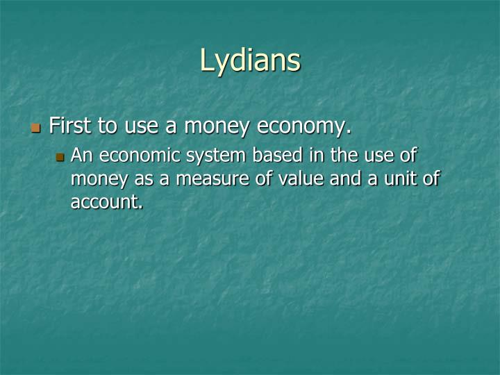 Lydians