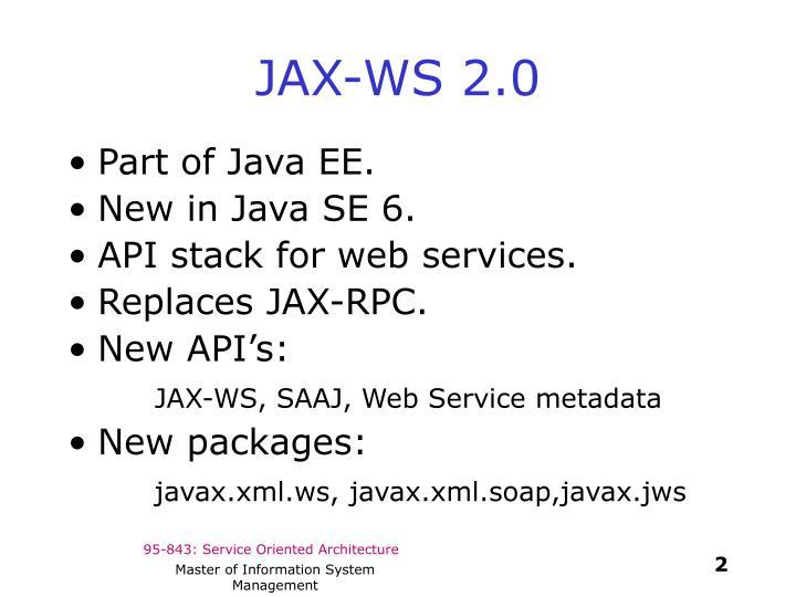 JAX-WS 2.0
