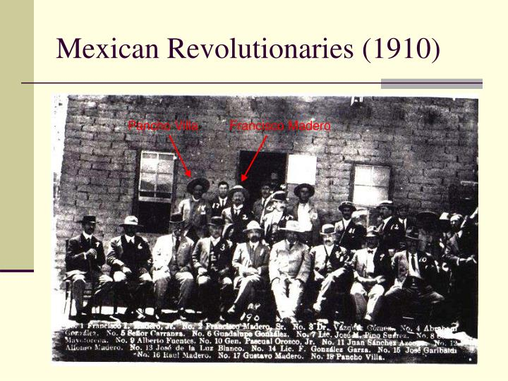 Mexican Revolutionaries (1910)