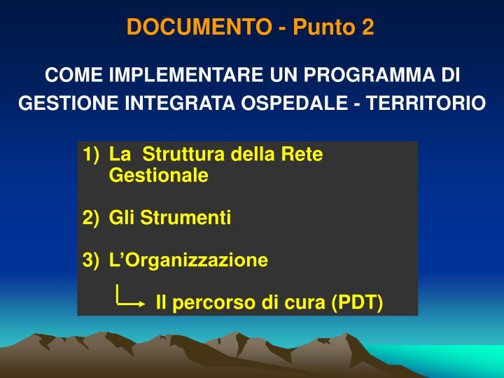 DOCUMENTO - Punto 2