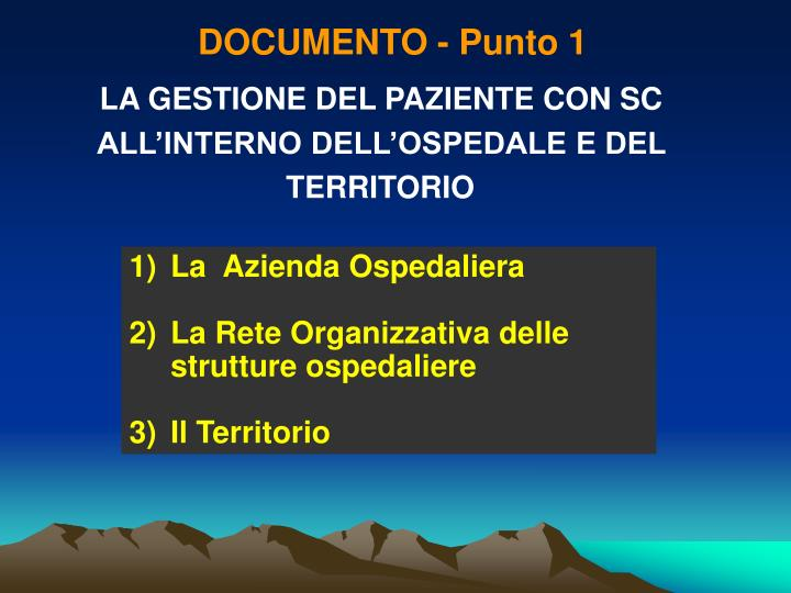 DOCUMENTO - Punto 1