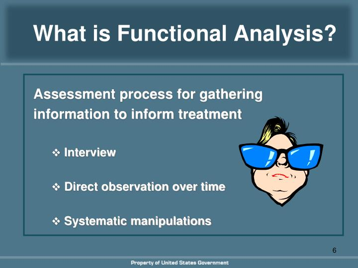 What is Functional Analysis?